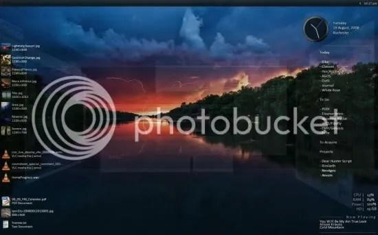 Desktop dengan Samurize