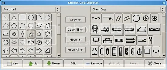 Dia object sheet editor