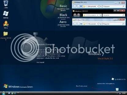 Tema Windows 7 untuk XP