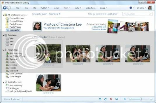 Windows Live Photo