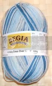 100 g regia 4-fädig cross over color - farbe 04529