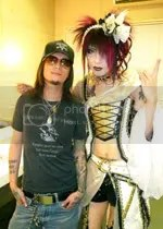 trucker tom vs visual kei bassist kisaki