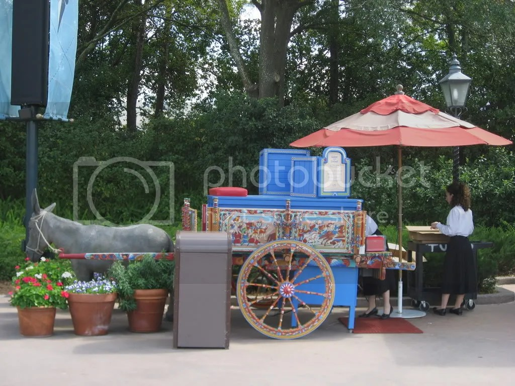 Food Stand at Epcot