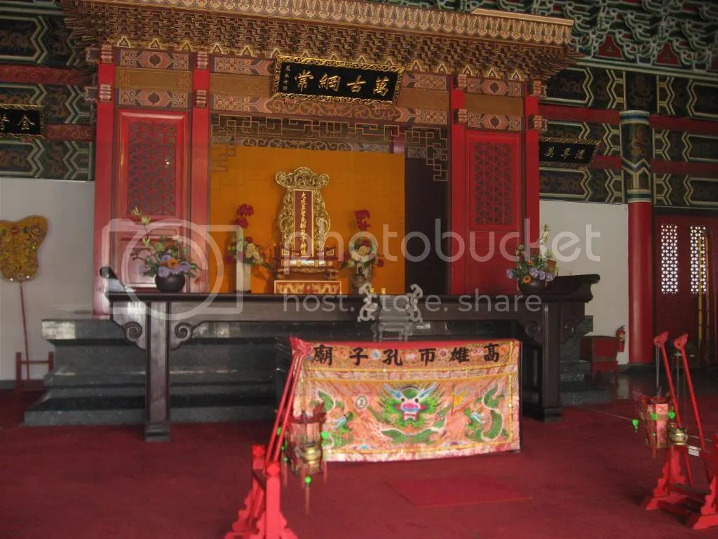 Inside Confucius Temple