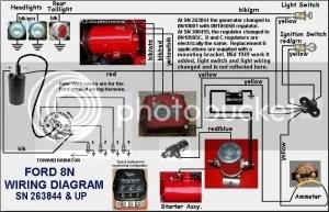 6 volt wiring  Ford 9N, 2N, 8N Forum  Yesterday's Tractors