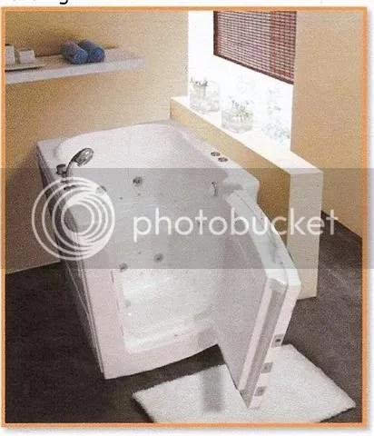 Walkinbathtub The Front Load Acrylic Petite Soaker 31 X