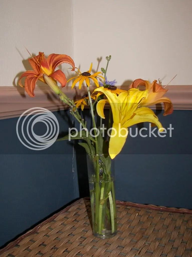 Purty flowers.