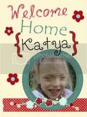 Bringing Katya Home Blog