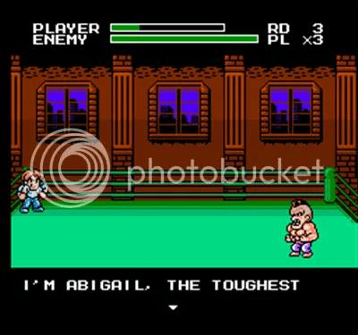 Abigail, es el insufrible del game. Deberemos vencerlo varias veces