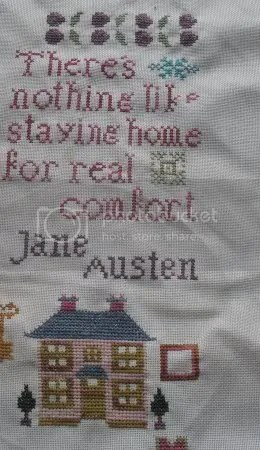 Here is one sampler I am almost finished with!