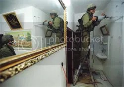 IDF drill through walls
