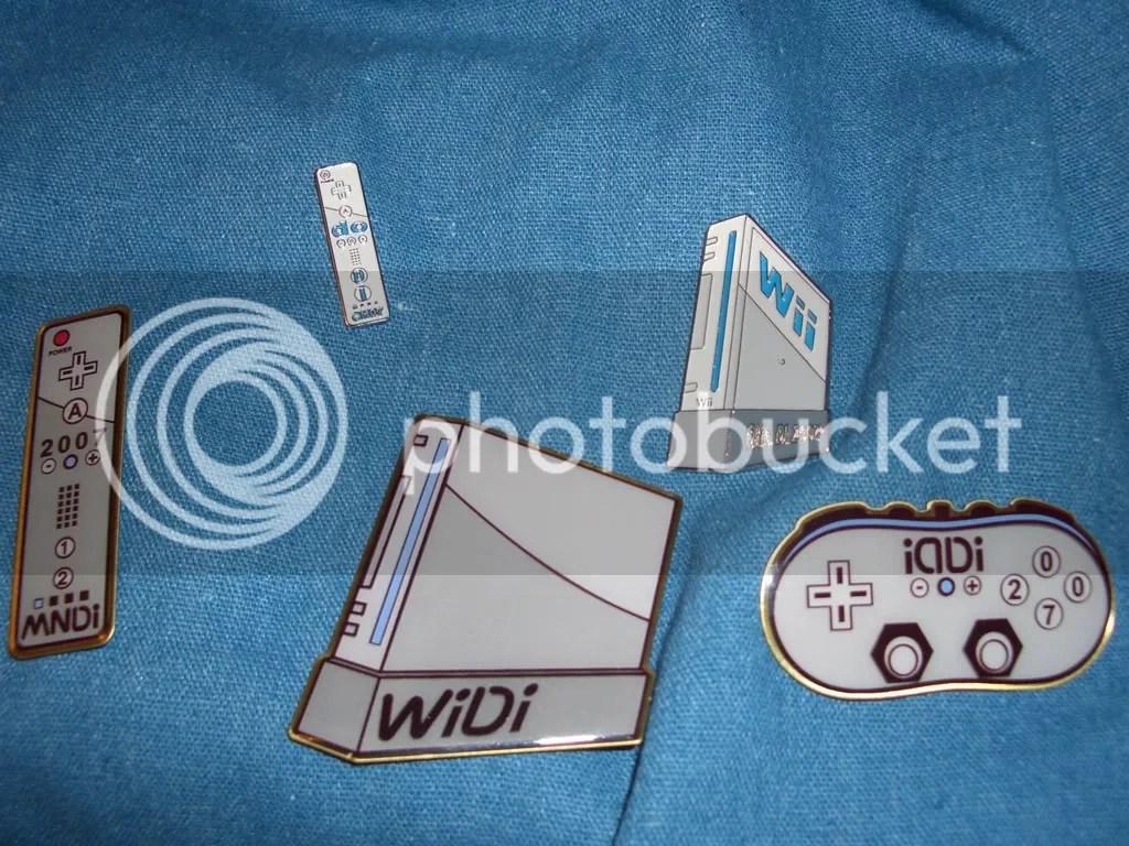 Wii Pins