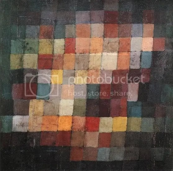 Pauk Klee, Ancient Sound (1925)