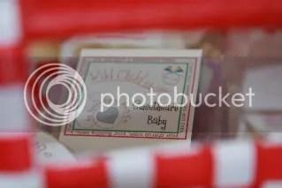 soap in basket