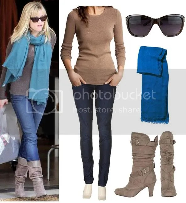 Reese Witherspoon's Style for $99.59. Shop Now: Tan Sweater $19.99