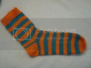 Striped Valentine's Day Socks