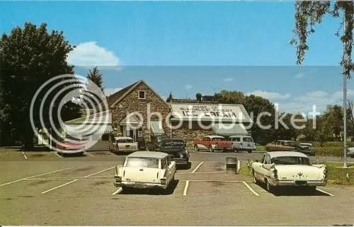 The Guernsey Cow Exton postcard ca 1950s