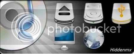 StudioMX MacOS style computer icons
