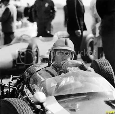 Sir Jack Brabham at the 1961 Monaco Grand Prix