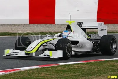 Button - The Brawn GP Mercedes IS fast