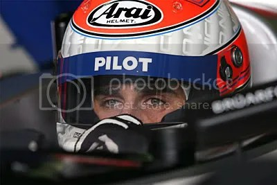 Nicolas Prost.  Look at the eyes, he looks just like his father!!