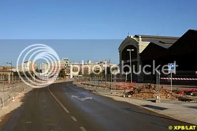 Valencia Track Under Contruction