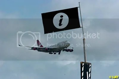 A Virgin Atlantic 747 Jet at Goodwood Festival of Speed