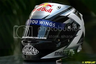 David Coulthard - Japanese GP - Colin McRae Tribute