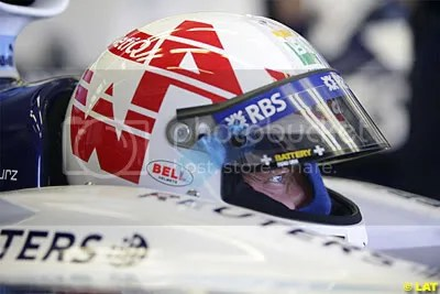 Alexander Wurz - British GP - Competition Designed