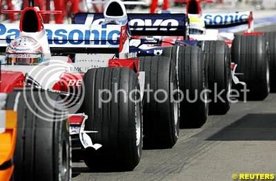 Giancarlo Fisichella, Jarno Trulli, Nico Rosberg, Ralf Schumacher