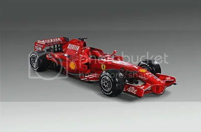 Ferrari F2008 - Launched January 6th 2008; Maranello Italy