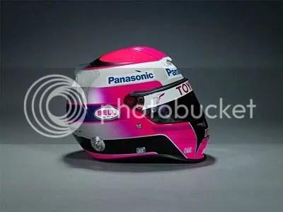 Franck Montagny Helmet