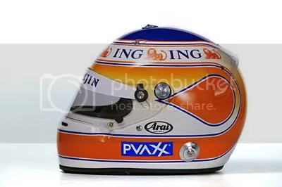 Nelson Piquet Jr. Helmet
