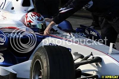 Javier Villa, BMW Sauber F1.07 Hybrid Tester, Jerez Testing December 07