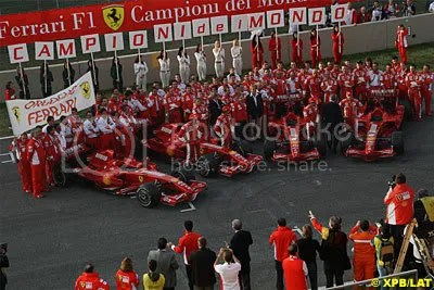 Ferrari End Of Year Celebrations
