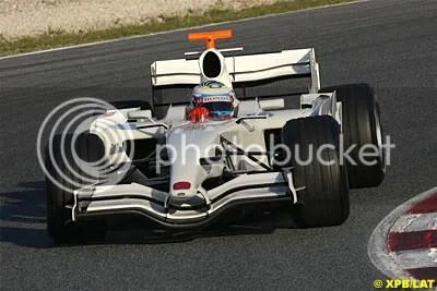 Luca Filippi, Honda RA107 Testcar, Jerez Testing December 07
