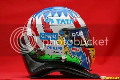 Alex Wurz's Helmet