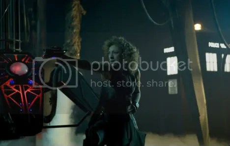 River Song, Gun, and TARDIS