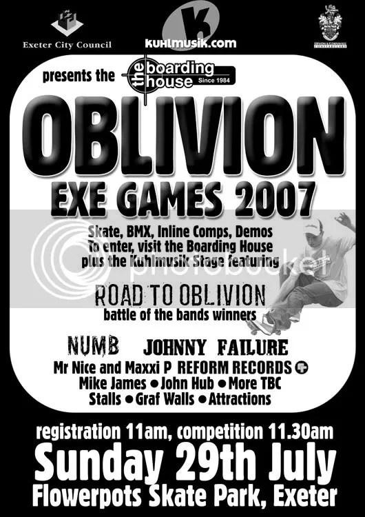 Oblivion Exe Games