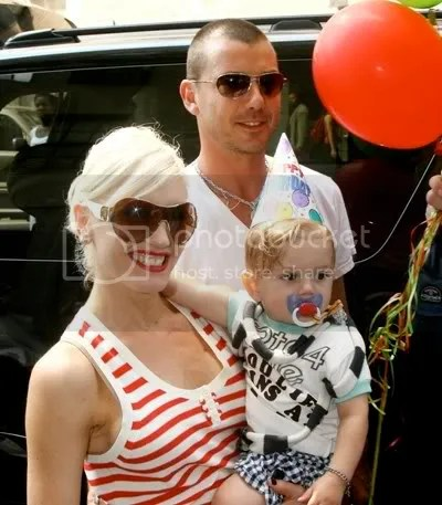 Gwen Stefani, Gavin Rossdale, son Kingston