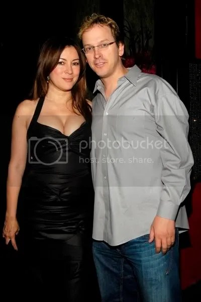Jennifer Tilly with boyfriend Phil Laak