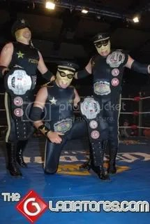 Two Crown Trios Champs/the gladiatores
