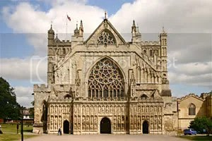 Exeter Cathedral - West Front