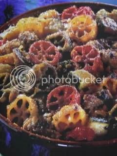 Pinwheel Pasta Bake