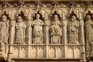 West Front figures
