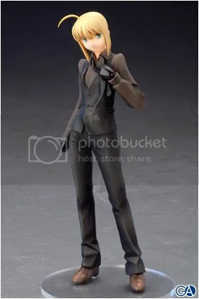 This figure of Saber will make you gay.