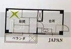 This ad potrays a typical japanese home. Oh, the Xbox logo represents its real size btw