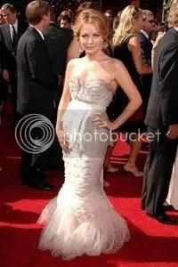 Becki Newton at Emmy Award 2007