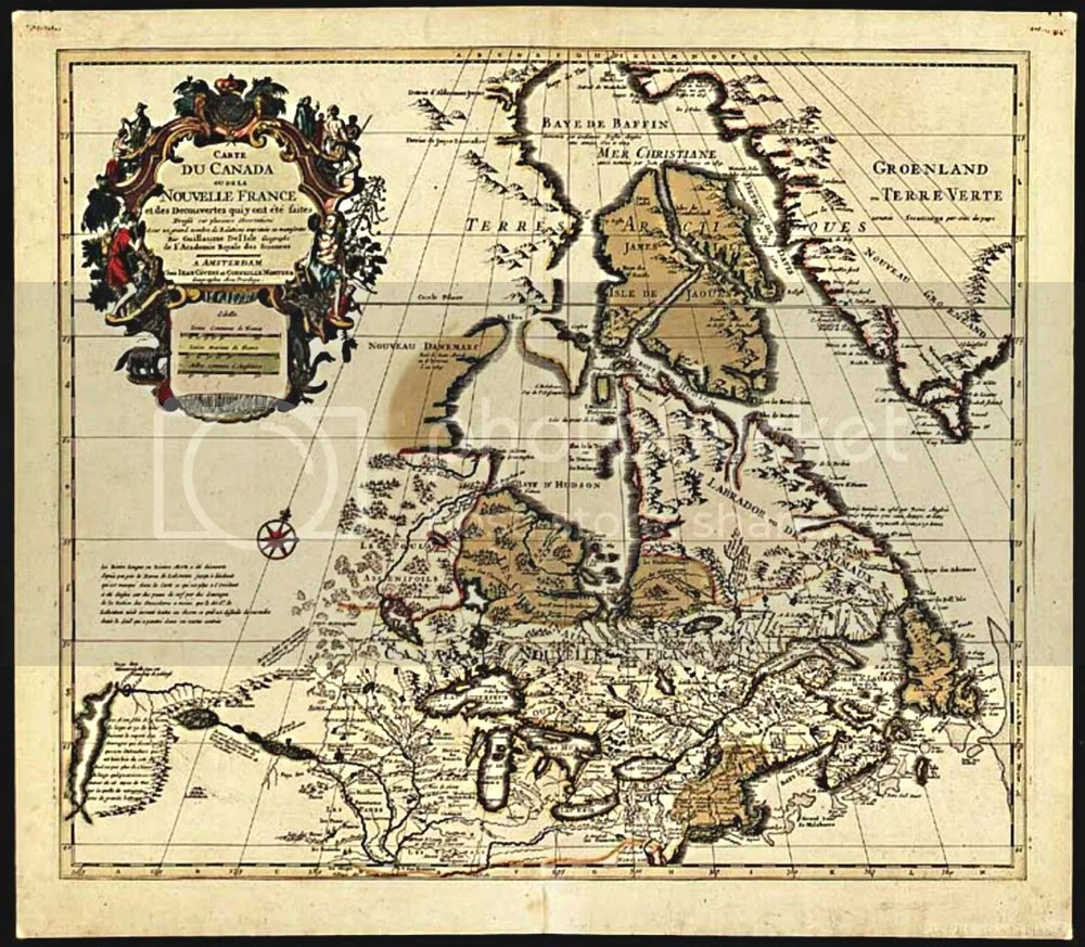Map Of Canada History.How To Draw A Map Of New France Without Ever Visiting All About