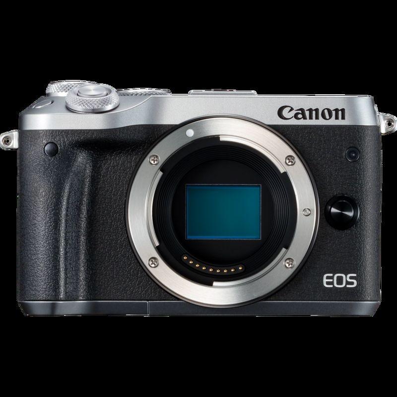 """""""Canon EOS M6 boîtier argent"""" canon 70d Canon 70D Bundle 1725c041 eos m6 1"""